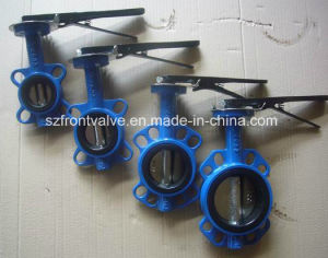 Cast Iron/Ductile Iron Wafer Butterfly Valves pictures & photos