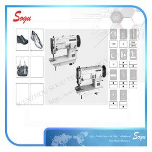 Auto Lubrication Single/Double Needle Presser Foot Zigzag Machine pictures & photos