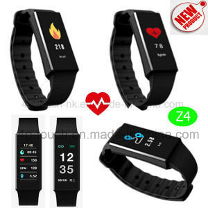 Colorful Display Waterproof Smart Bluetooth Bracelet with Heart Rate Z4 pictures & photos