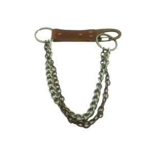 Newest Design Bags Accessory with Chain Metal Ring Leather Buckle pictures & photos