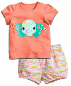 Fashion Girl Children′s T-Shirt in Kids Clothes Sgt-076 pictures & photos