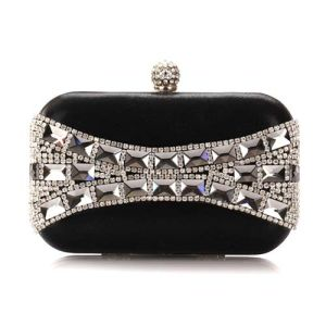 Italy Rhinestone Evening Bag Fashion Party Designer Bag Clutch Bag (XW0927) pictures & photos