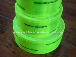 Printed Reflective PVC Sew-on Tape pictures & photos
