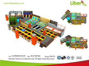 5. Le. B8.603.253 (1) Small Irragular Shapped Trampoline Park pictures & photos