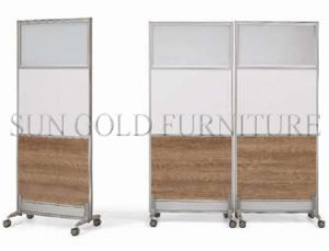 Modern Office Room Divider Removable Rolling Partition Wall (SZ-WS584) pictures & photos