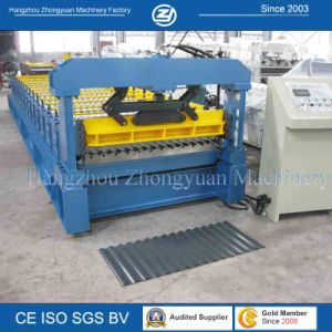 Length Set Cutting Corrugated Metal Roof Roll Forming Machine pictures & photos