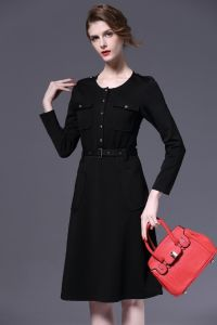 OEM 2015 New Fashion European Style Office Ladies Dress pictures & photos