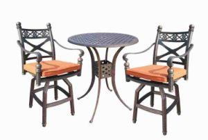 Classic High Dining Cast Aluminum Outdoor Furniture pictures & photos
