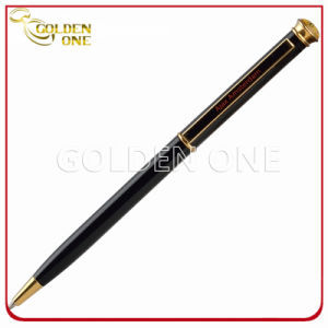 Promotional Personalized Printed Slim Twist Metal Ballpen for Sales pictures & photos
