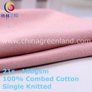 100%Cotton Knitted Jersey Fabric for Bulk Textile (GLLML409) pictures & photos
