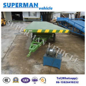 20t Agriculture Use Flatbed Cargo Dump Trailer/ Side Tipping Trailer pictures & photos