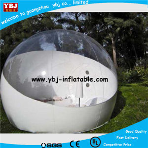China 2015 New Half Transparent Inflatable Bubble Camping