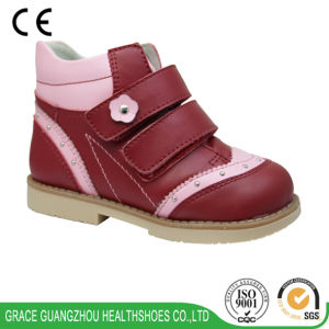 Grace Ortho Children Orthopedic Shoes with TPR Skid-Proof Outsole pictures & photos