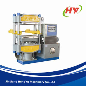 Automatic EVA Two Color One Time Molding Foaming Machine pictures & photos
