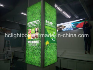 Aluminum Frameless Fabric and Textile Advertising Light Box pictures & photos