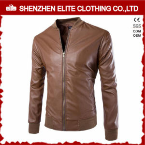 Pakistan Man Leather Jacket Men Black Casual pictures & photos