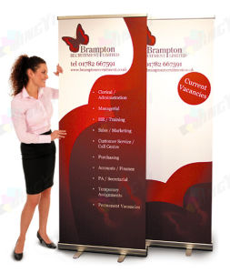 Customized Trade Show Envent Display Scrolling Roll up Banner pictures & photos