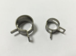 Precision Metal Hose Clamp Parts pictures & photos