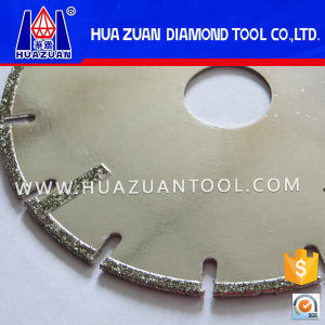 Electroplated Diamond Saw Blade for Marble Cutting pictures & photos