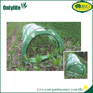 High Quality PVC Tunnel Greenhouse with Zipper pictures & photos
