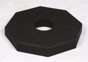 Rubber Road Cushion, Road Mark Mat, Corn Rubber Base Pad pictures & photos