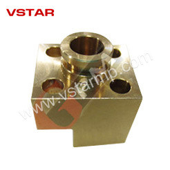High Precision Brass Part by CNC Machining for Food Equipment pictures & photos