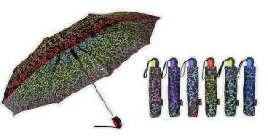 Ornament Print Foldable Quality Automatic Umbrellas (YS-3FA22083964R)