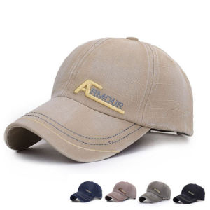 Men′s Embroidered Textured Cotton Promotional Baseball Cap (YKY3064) pictures & photos