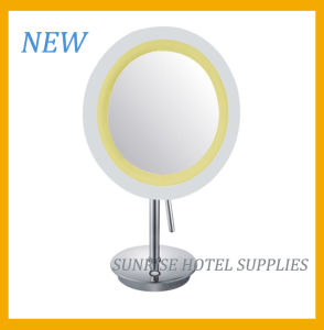 New Arrival Free Standing Magnifying Mirror for Hotel pictures & photos