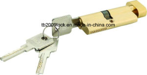 Brass/Zinc Computer Key Door Cylinder Lock/Lock Cylinder pictures & photos