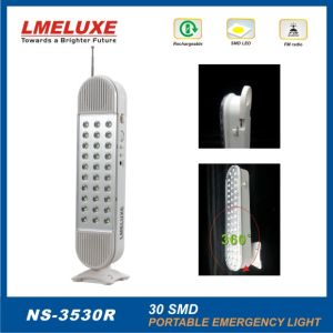 SMD LED Rechargeable Emergency LED Lighting with Radio pictures & photos