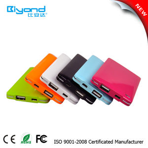 Super Slim Mobile Power Bank Portable Power Bank Gift Promotional Power Bank