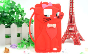 for iPhone 6s/6plus Cartoon Tom Cat Silicone Case for Samsung S6 Edge (XSDW-006) pictures & photos