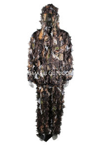 3D Camo Leaf Costume for Wargames Sports pictures & photos
