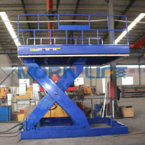 Warehouse Cargo Scissor Lift with CE Cert pictures & photos