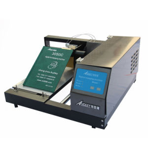 Digital Hot Stamping Machine Automatic Hard Note Book Cover Foil Stamp Printer with CE (ADL-3050C) pictures & photos