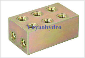 Hydraulic Manifold with Thread Connector pictures & photos