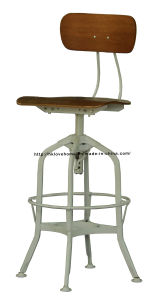 Replica Industrial Steel Plywood Restaurant Dining Toledo Bar Stools Chair pictures & photos