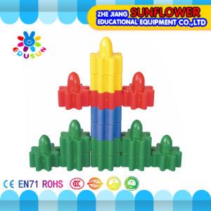 Children Plastic Desktop Toy Inserting Car Building Blocks Desktop Toys