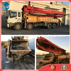 42m 8*4-LHD-Drive 26ton Isuzu-Chassis Used Bulk-Shipping Putzmeister Pump Truck pictures & photos