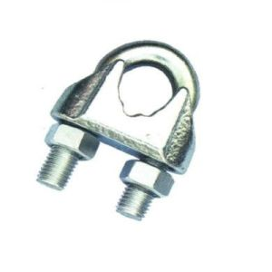 Precision Casting Heavy Duty Steel Malleable Cross Wire Rope Clips pictures & photos