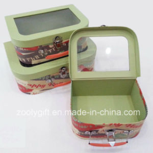 Portable Printing Paper Suitcase Storage Gift Boxes Set pictures & photos