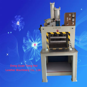 Gas-Hydraulic Pressure Cylinder Hang Tag Embossing and Cutting Machine pictures & photos