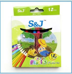 Factory Direct Sell Premium 12PCS Short Color Pencil