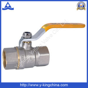 Forged Brass Gas Ball Valve (YD-1021) pictures & photos