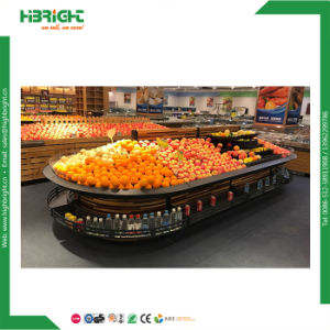 Supermarket Fruit Vegetable Display Racks pictures & photos