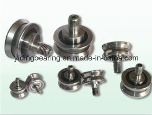 V Groove Guide Rail Bearing with Eccentric Bush/Shaft pictures & photos
