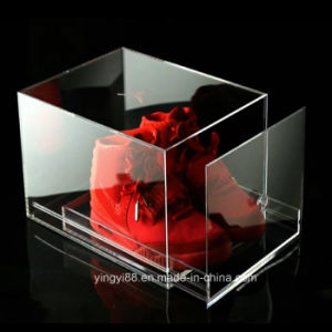 Clear Luxury Acrylic Sneaker Shoe Box pictures & photos