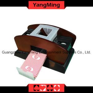 Wood Poker Card Shuffler for 1-2decks (YM-CS05) pictures & photos