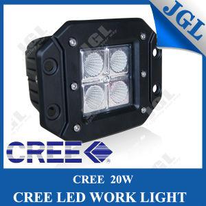 4′′ LED Car Light 2X2 Pod Style Embed Work Light